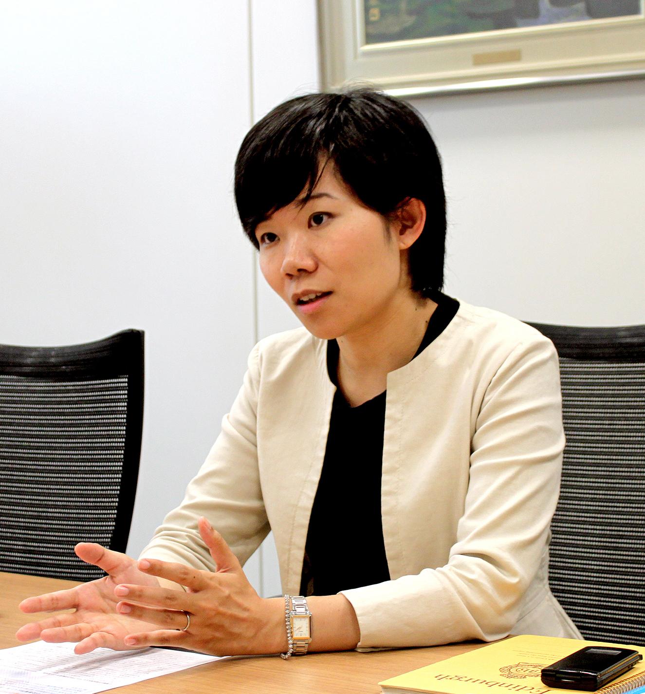 新日鐵住金株式会社 財務部 IR室 倉田 章代氏