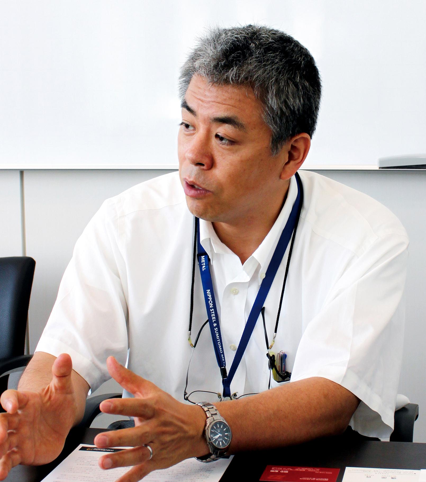 新日鐵住金株式会社 技術統括部 水谷 泰氏